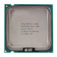 ПРОЦЕССОР на 2 ЯДРА S 775 PENTIUM Dual-CORE E2200 (  E 2200 2 по 2,2Ghz каждое, FSB 800 s775 ) INTEL