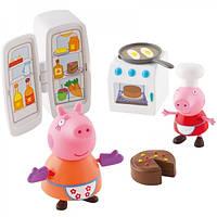 Игровой мини набор Peppa Кухня Пеппы кухонная техника и 2 фигурки