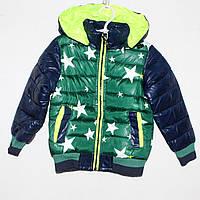 Куртка болоньевая на силиконе  Арт. 515  Разм. 110,122,128