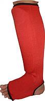 Бинты кистевые, коленные Power System ELASTIC SHIN PAD PS-6006 Red