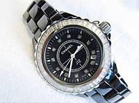 Красивые женские  часы Chanel керамика, фото 1