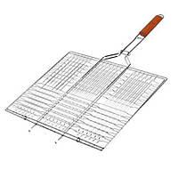 Решетка-гриль плоская большая 70х45х36 см