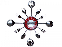 Часы настенные Столовые Приборы 37*37*4.5 см Your Time 01-056