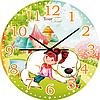 Часы настенные Друг с мокрым носом Детские мультфильмы кругл 25 см Your Time 05-402/03