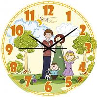Часы настенные Семья Детские мультфильмы кругл 25 см Your Time 05-402/05