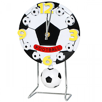 Часы настольные Детские с маятником Футбольный мяч кварц.пластик 17*4*26см Your Time 05-013