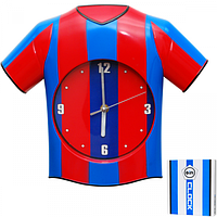 Часы настенный Детские Футбольная форма кварц.пластик 33*5*28 см Your Time 05-015