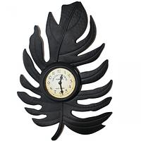 Часы настенные Листик метал. 41,5*5*28см Your Time 02-212