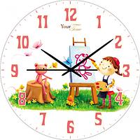 Часы настенные Художница Детская серия МДФ круг 25см Your Time 05-401/2