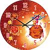 Часы настенные Марсиан Детская серия МДФ круг 25см Your Time 05-401/3