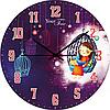 Часы настенные Флора Детская серия МДФ круг 25 см Your Time 05-401/4