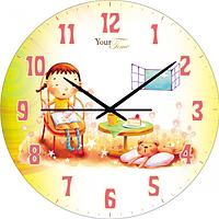 Часы настенные Друг Детская серия МДФ круг 25 см Your Time 05-401/5