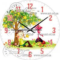 Часы настенные Весений сад Детская серия МДФ круг 25см Your Time 05-401/6