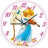 Часы настенные Скрипачка Детская серия МДФ круг 25см Your Time 05-403/8