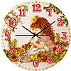 Часы настенные Розалия Детская серия МДФ круг 25см Your Time 05-403/10