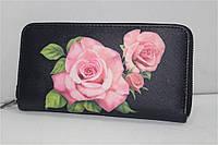 Женский кошелек-клатч