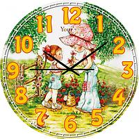 Часы настенные Мамина нежность Детская серия МДФ круг 25см Your Time 05-403/13