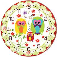 Часы настенные Совиная мечта Детская серия МДФ круг 25см Your Time 05-403/17