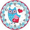 Часы настенные Совиная мечта Детская серия МДФ круг 25см Your Time 05-403/18