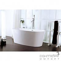 Ванны Aqua-World Отдельностоящая ванна с переливом Aqua-World ARTISTIC BATH AC0906 АВ0906 белая