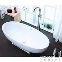 Ванны Aqua-World Отдельностоящая ванна с переливом Aqua-World ARTISTIC BATH AC1170 АВ1170 белая