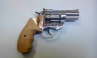 """Револьвер под патрон Флобера Ekol 3"""" Chrome (рукоять дерево)"""