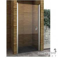 Душевые кабины, двери и шторки для ванн Aqua-World Душевая дверь распашная Aqua-World Pivot PV80S ДкПд.80-Tr стекло прозрачное