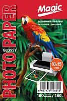 Фотобумага Magic Glossy 10x15 180g 100 листов