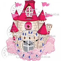 Часы настенные Замок детские МДФ 32,5 * 4,5 * 39см Your Time 05-200