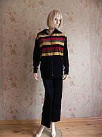 Спортивный костюм женский велюровый XXXL