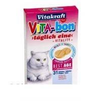 Витамины Vita-Bon 31 Таб. д/кош старше 7л Best Age VitaKraft