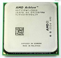 Процессор AMD ATHLON X2 7550 sam2+ - 2 ЯДРА ( 2 по 2.5 Ghz каждое ) AD7550WCJ2BGH  sam2 am2+ am3 с ГАРАНТИЕЙ