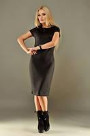 Женское платье дайвинг черное