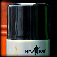 Огнеупорная краска для металла Черная  до 600 град.С «New Ton» Черная