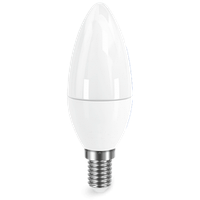 LED лампа свеча 5W E14 4100K, ElectroHouse
