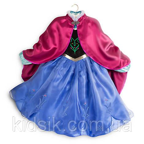 Костюм для девочек: принцесса Анна, Холодное сердце Frozen, Disney., фото 1