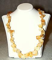 Ожерелье/Бусы из натурального ЦИТРИНА