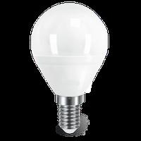 LED лампа шар 5W E14 4100K ISKRA