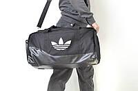 Спортивная сумка ADIDAS большая черное дно (сумка Адидас)