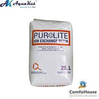 Ионообменная смола Purelite 25 л (20 кг) (засыпка для умягчения)