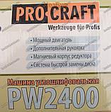 Болгарка PROCRAFT PW2400, фото 8