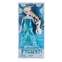 Классическая кукла Принцесса Дисней Эльза Холодное сердце с Олафом,  Elsa  Frozen Classic Doll