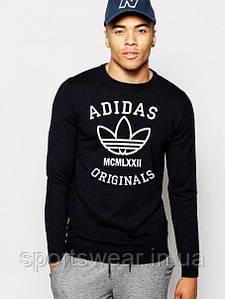"""Свитшот чёрный  Adidas ( Адидас ) Original BRUSH """""""" В стиле Adidas """""""""""