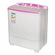Стиральная машина SATURN ST-WK7601 розовая