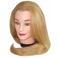 Голова учебная на штативе 50-55см протеиновый волос  50x50