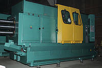 Токарный  восьмишпиндельный горизонтальный автомат 1Б265Н-8К