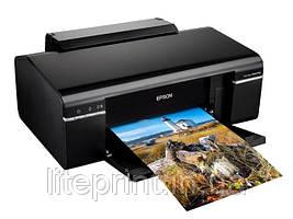 Принтер Epson Stylus Photo P50 с СНПЧ и чернилами