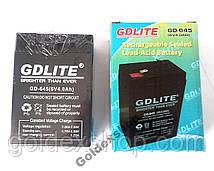 Аккумулятор GD LITE 6V 4Ah.  GD-645