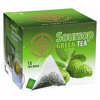 Зеленый чай Mlesna Саусеп в пакетиках арт. 02-103 30г.