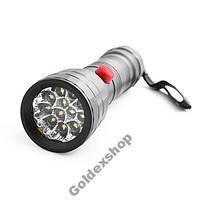 Фонарик на 12 LED светодиодах 7086